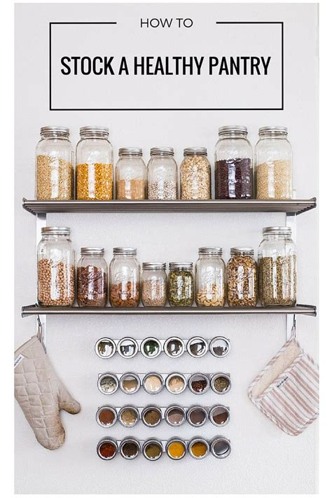Healthy Pantry Essentials by 1000 Ideas About Pantry Staples List On