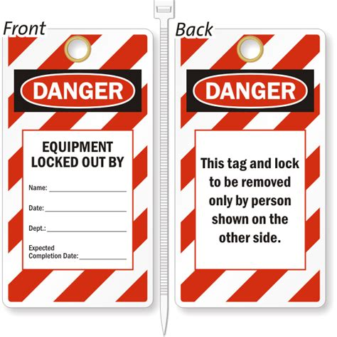 printable danger tags equipment locked out by safety lockout tag sku tg 1024 07
