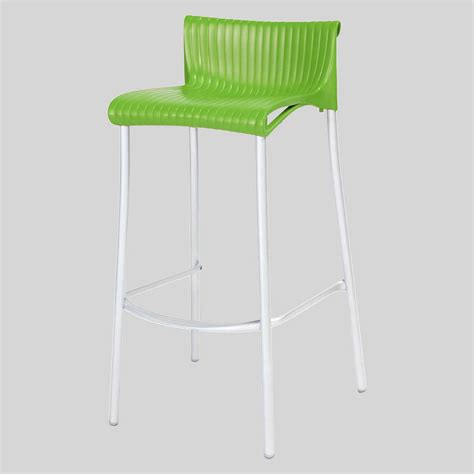 Green Stool For A Week by Hospitality Barstools Daytona Concept Collections