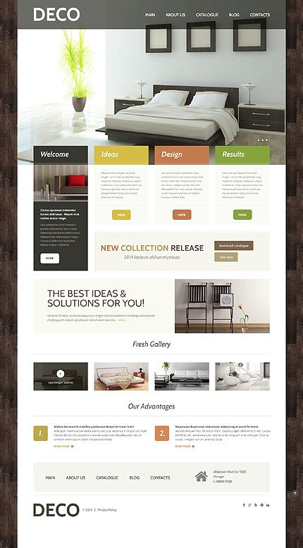 interior design company profile template word 40 interior design wordpress themes that will boost your