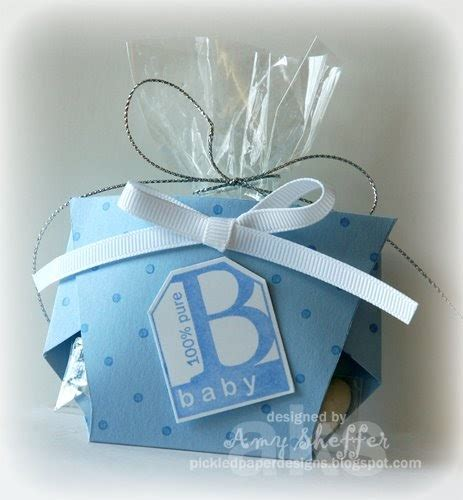 template for baby shower favors pickled paper designs favor pattern and tutorial