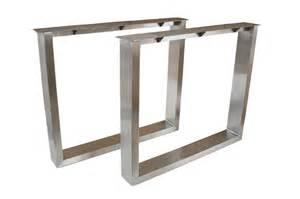 tisch gestell tischbeine tischgestell aus edelstahl geb 252 rstet tb102