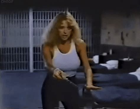 penitentiary movie bathroom scene sybil danning in chained heat 1983 cinegif