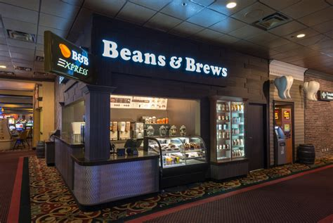 casual dining beans brews wendover resorts