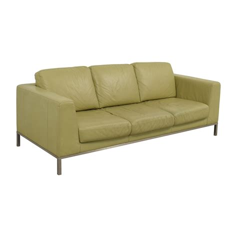 italsofa sofa 26 off italsofa italsofa green leather sofa sofas