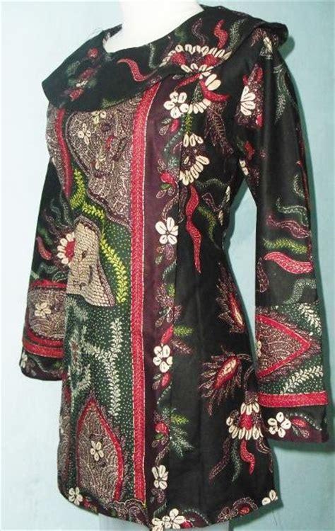 Blus Katun Bigsize 2 grosir baju muslim murah blus faj345 95 000 batik motif