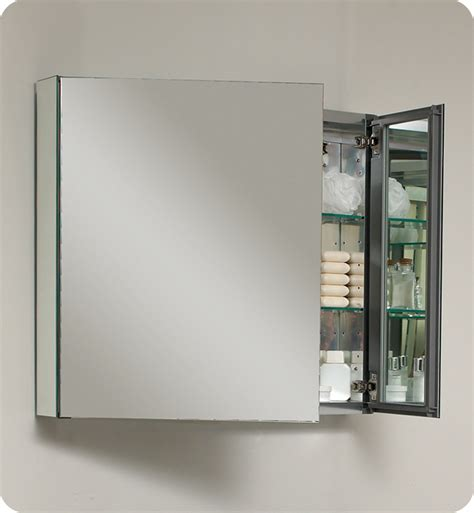 29 75 Quot Fresca Fmc8090 Medium Bathroom Medicine Cabinet W Cabinet Mirror For Bathroom