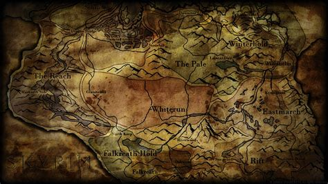 map wallpaper skyrim map wallpapers wallpaper cave