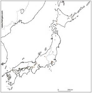 Japan Map Cities Outline by Outline School Map Of Japan Regions And Cities
