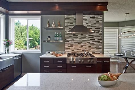 Glass Tile Kitchen Backsplash Ideas by Kitchen Design Trend Quartz Countertops Hgtv