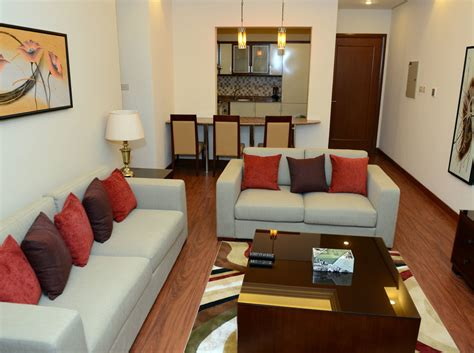 bedroom fully furnished  jabria  rent apartments  kuwait
