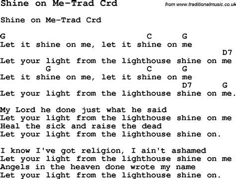 Shine Guitar Chords