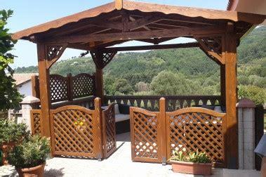 gazebi di legno gazebi in legno pino costruzioni casal velino marina sa