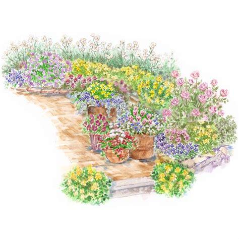 cottage garden layout design english victorian cottage garden plan