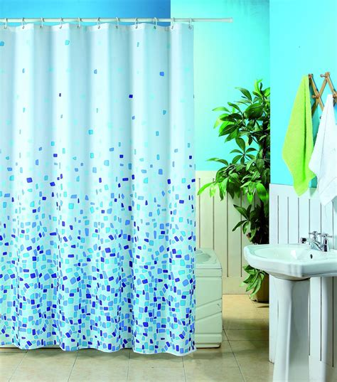 patterned shower curtains patterned polyester shower curtains mosaic 180x180cm