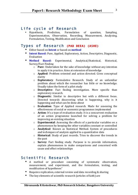 exle of methodology for research paper paper 1 phd course work research methodology