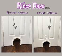 cat door for interior door new the kitty pass interior cat door pet door hidden litter box free shipping