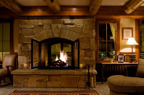 great room fireplace the inn at lost creek telluride colorado covington travel
