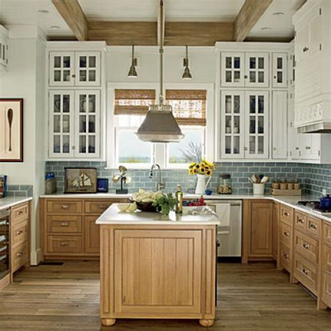 best wood for painted kitchen cabinets stylish two tone kitchen cabinets for your inspiration hative