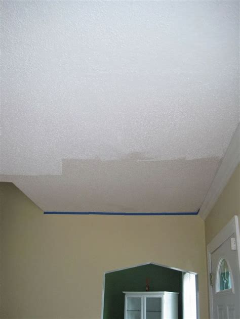 Tips On Painting Ceilings by Tips For Painting A Popcorn Ceiling Build It