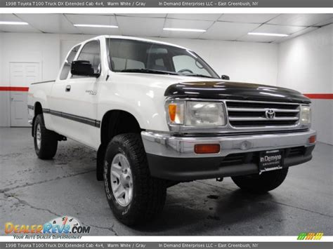 Toyota T100 4x4 1998 Toyota T100 Truck Dx Extended Cab 4x4 Warm White