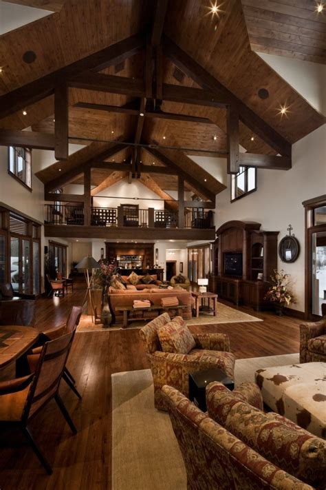 western decorating ideas for living rooms dream house 15 warm rustic family room designs for the winter