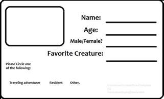resident id card template by tundraiceadopts on deviantart