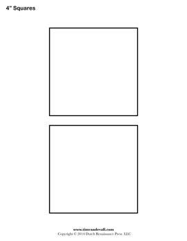 Square Templates by Square Templates Blank Shape Templates Free Printable Pdf