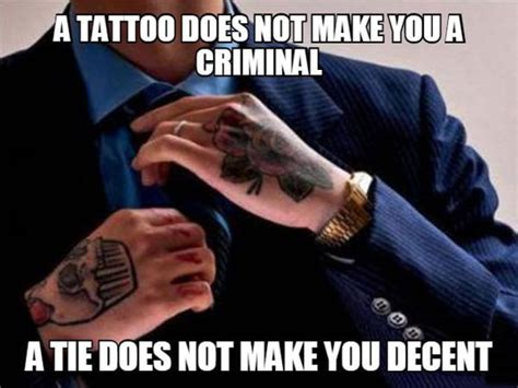 tattoo stereotypes for those who judge all the time