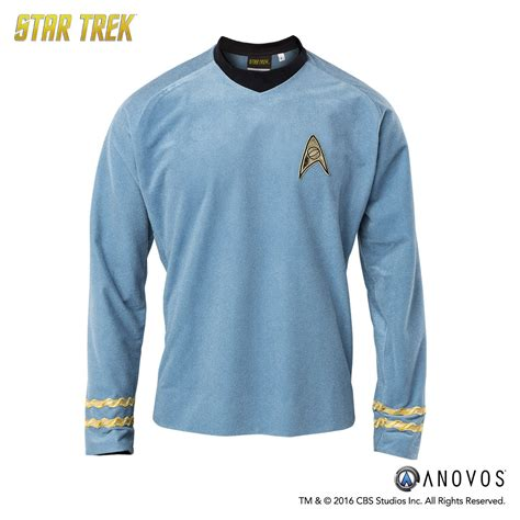 Treksepatu Lining Original Trek trek the original series s tunic velour line anovos productions llc
