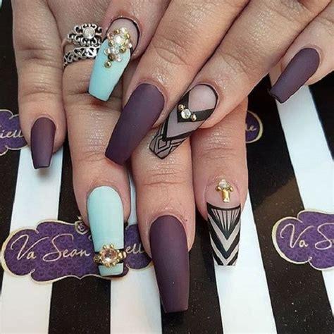 kim kardashian coffin nails 50 coffin nail art designs for any season in 2017 black