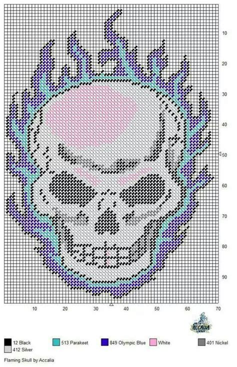 free patterns in plastic canvas to print free printable plastic canvas patterns skulls google