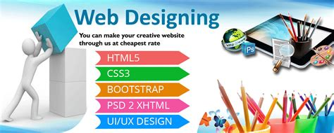 web design graphic design six weeks six months industrial training in chandigarh