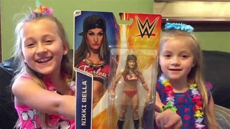 nikki bella toys nikki bella mattel wwe wrestling figure review youtube