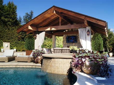 tre gazebo havepavillon og sol husly ideer til med pool