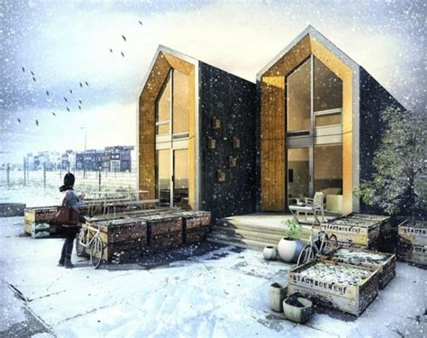 casas peque as de madera dise 241 o de casa prefabricada con planos construye hogar