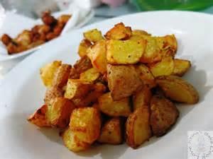 air fried potato cubes bake cook love