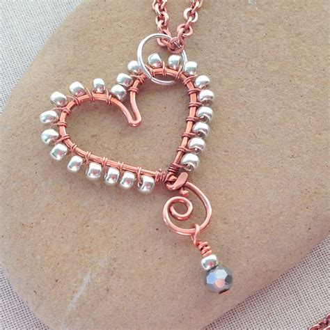 learn to make beaded jewelry make a bead wrapped wire pendant 187 dollar store crafts