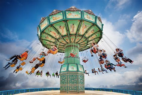 swing ride at fair swing rides archives premium amusement park funfair