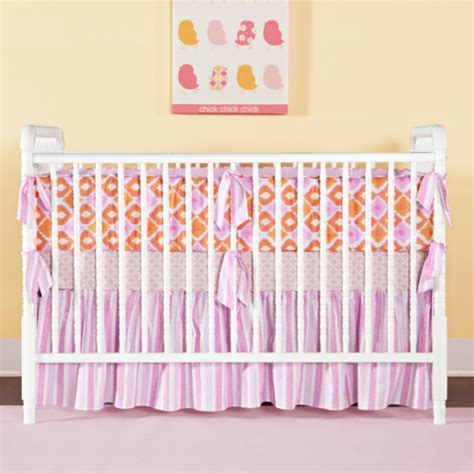 Orange And Pink Crib Bedding Pink And Orange Crib Bedding Crib Bedding Nursery Crib Set Pink Orange Crib Bedding Sweet