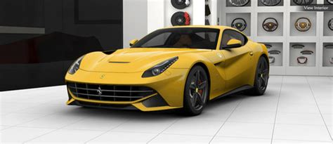 Ferrari Config by Ferrari F12 Berlinetta Online Configurator Launched