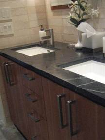 Slate Laminate Countertop - bathroom countertop buying guide hgtv