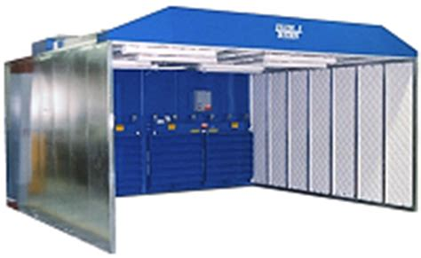 dust booths containment booths