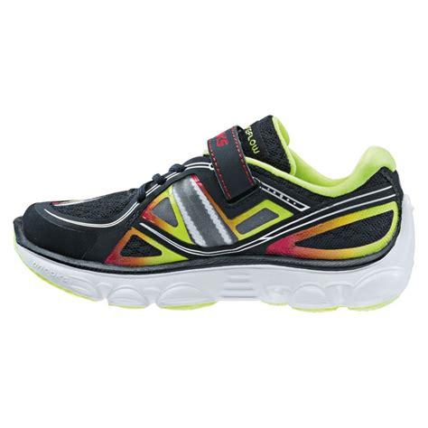 velcro running shoes pureflow 3 velcro boys running shoes black