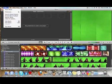 tutorial imovie green screen how to do green screen effects in imovie 09 green screen