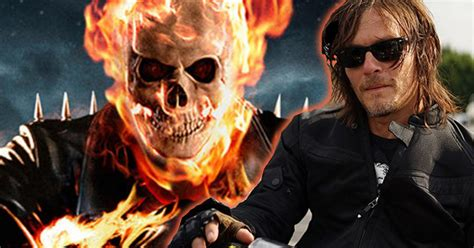 aktor film ghost rider norman reedus wants to play ghost rider
