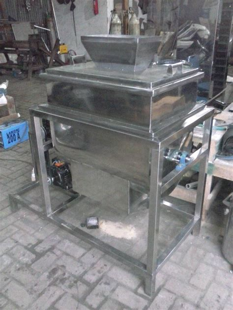 Mesin Mixer Powder Mixer Ribbon mesin mixer ribbon tepung bahan kering graha mesin