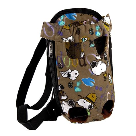 puppy carrier backpack cat pet puppy canvas backpack comfort front tote carrier portable net bag ebay