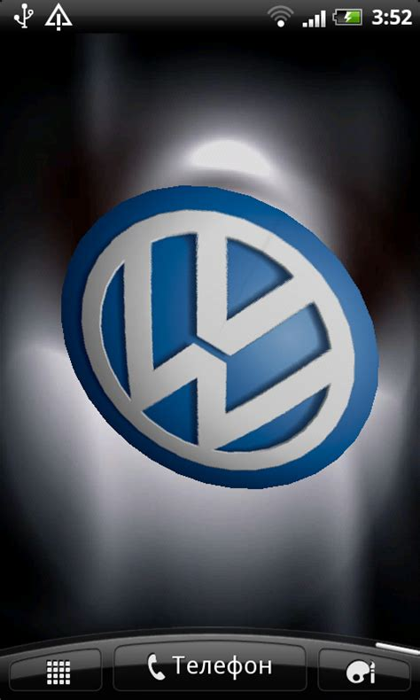 wallpaper iphone 5 vw free volkswagen 3d logo live wallpaper apk download for