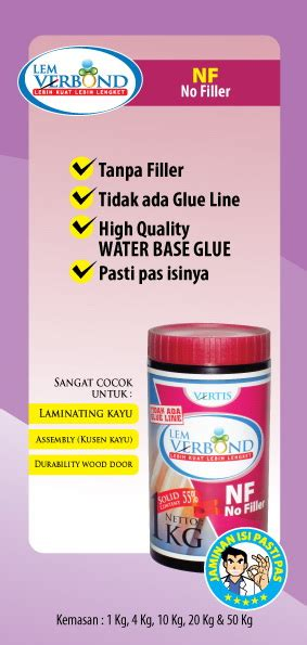 Lem Verbond Pt Vertis Indonesia